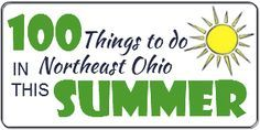 100 Things to do in Northeast Ohio this Summer