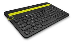 Logitech Bluetooth Multi-Device Keyboard K480 for Computers Tablets and Smartphones Black This has a rating of above 4 stars and remains among the highest selling products online in PC category in India. Click below to see its Availability and Price in YOUR country.