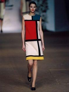 Mondrian prêt à porter !