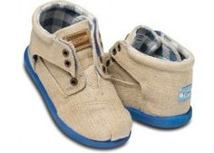 Tiny Toms tan botas