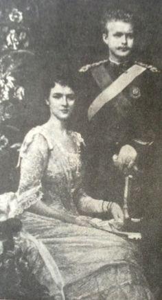 Foto de D.Carlos e D.Amélia Amelie, Portugal, Painting, Royal Family Pictures, Painting Art, Paintings, Painted Canvas, Drawings, Amelia
