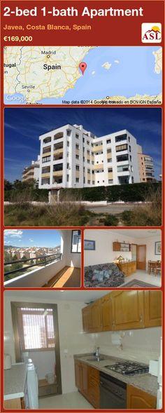 2-bed 1-bath Apartment in Javea, Costa Blanca, Spain ►€169,000 #PropertyForSaleInSpain