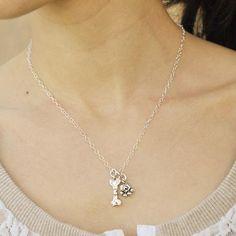 Puppy love necklace   #Dog #DogMonth #necklace #jewelry #cowgirljewelry  http://www.islandcowgirl.com/