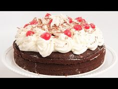 Black Forest Cake Recipe| Laura in the Kitchen