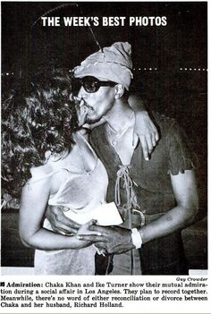 70sBestBlackAlbums Chaka Khan with Ike Turner?! MIND. BLOWN.