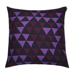 Hippa cushion cover, purple, by Marimekko.