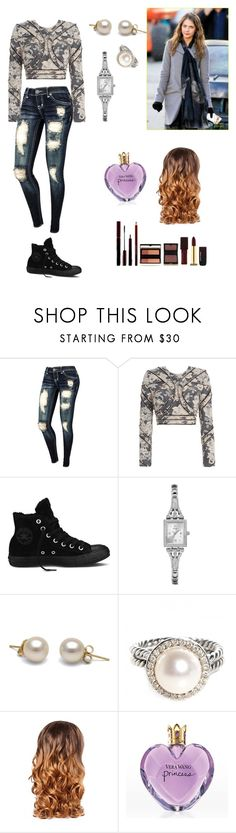 """Balad with Willa Holland... <3"" by perrie0112 ❤ liked on Polyvore featuring Zimmermann, Converse, GUESS, David Yurman, Lipsy and Kevyn Aucoin"