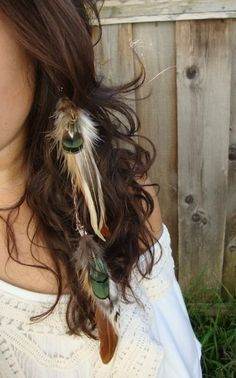 Feather earrings are so addictive!!!