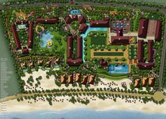 Tu Fu Bay Resort Park Resorts, Master Plan, Urban Planning, Beach Hotels, Botanical Gardens, Presentation, Places To Visit, Layout, How To Plan