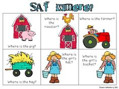 Say Where? {A positional words board game}
