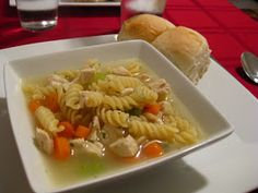 The Michelin Star: Chicken Noodle Soup