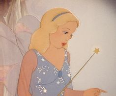 Day 3- Favorite heroine. The Blue Fairy. She's so beautiful and wise. One of my favorites.
