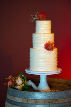 wedding cake by http://www.athymetocook.com/ Photography By / norman-photography.com