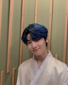 Minho, Fandom, Lee Know, Lee Min Ho, Asian Boys, South Korean Boy Band, K Idols, Blue Hair, Sehun