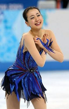 Mao Asada / Figure skater. In Sochi.   At last oneself aimed at her; was able to perform. And shed tears.