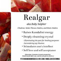 Realgar crystal meaning