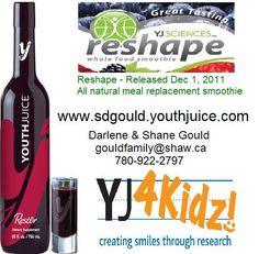 """Join the """"Reshape in Challenge username: sdgould Meal Replacement Smoothies, Coconut Water, Health And Nutrition, Username, Join, Challenges, Science, Drinks, Ideas"""