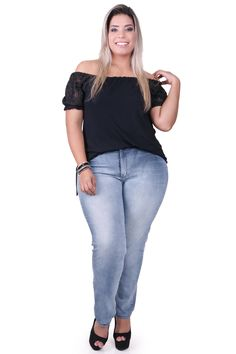 Jeans Plus size Kauê