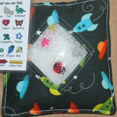 I Spy Bag  SPACE TRAVEL Treasure Hunt with Picture by kidbiz2010, $8.00