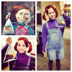 Darla Finding Nemo Costume | LaughingLeslie | Pinterest