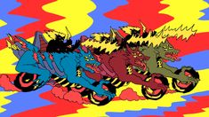 There is only one way to describe comic artist/illustrator/animator Lale Westvind's work: Pure insanity (and I mean that in the best way). Lots of glorious illustration work,animations for Super Deluxe, and a mind-melting music video below.     … Continue reading →