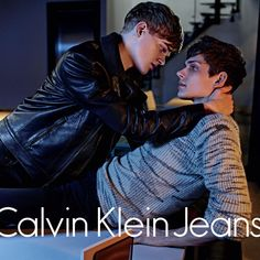 "This ad targets Gay people because it shows two men, one on top of the other. They both have that ""look"" and they look like they are about to kiss. Cute Gay Couples, Couples In Love, Gay Romance, Couple Goals Tumblr, Tumblr Gay, Couple Goals Cuddling, Men Kissing, Calvin Klein Jeans, Cute Guys"