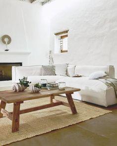 Bank Irula - Grote feelgood-oase met moderne chaise-longue. Verwent met zit- en ligcomfort de luxe. Met afneembare, katoenen bekleding, een zachte vulling met eendenveren en hoogwaardige stoffering. H Sofas, Oasis, Non Plus Ultra, Interior Inspiration, Dining Bench, Couch, Relax, Furniture, Home Decor