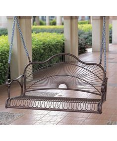 The prettiest most beautifulest swing ever in the history of the whole wide world.  $147