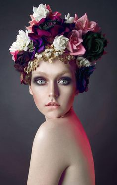 Beauty Shoot Floral Isabel Faith