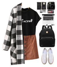 """""""Typical teenager school look"""" by gabygirafe ❤ liked on Polyvore featuring Bobbi Brown Cosmetics, Fujifilm, Charlotte Russe, Sheinside and shein"""