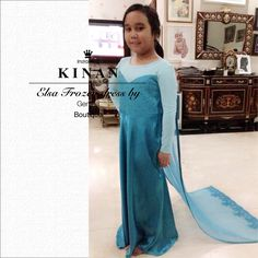 MbaKinan in Disney Frozen ELSA costume dress by GENTHA butik  Twitter : @Desti_gentha @genthabtq @saras_aras  IG : @desti_hardi @saras_aras https://m.facebook.com/pages/Gentha-BtQ/254114251278963?id=254114251278963&_rdr