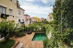 Projecto de paisagismo da autoria de Topiaris - Pátio em Lisboa