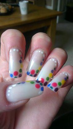 Spotty by ninskynina - Nail Art Gallery nailartgallery.nailsmag.com by Nails Magazine www.nailsmag.com #nailart
