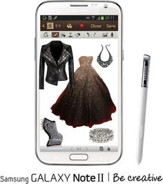 """""""Create a Downtown Muse look for a chance to win a Samsung GALAXY Note II!"""" by los-mundos-de-caroline on Polyvore"""