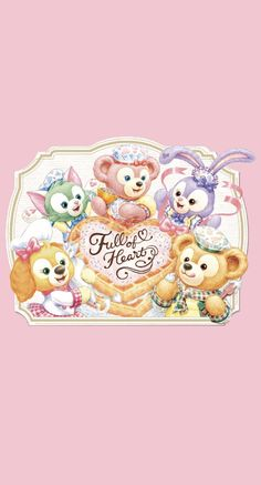Disney Phone Wallpaper, Cartoon Wallpaper Iphone, Friends Wallpaper, Kawaii Wallpaper, Cute Cartoon Wallpapers, Duffy The Disney Bear, Cute Patterns Wallpaper, Pooh Bear, Cute Stickers