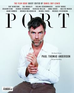 cover of Port Magazine Issue No. 9 – creative direction byKuchar Swara and Matt Willey