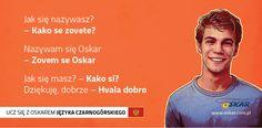 Ucz się z Oskarem języka czarnogórskiego! #nauka #język #czarnogórski #rozmówki #Czarnogóra