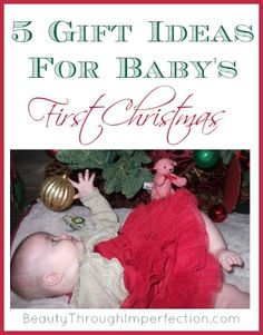 These are really creative Gift Ideas For Baby's First Christmas