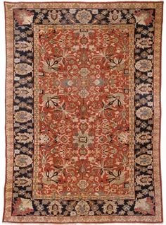SULTANABAD CARPET  WEST PERSIA, CIRCA 1890   15ft.4in. x 10ft.10in. (466cm. x 329cm.) I Christie's Sale 7219
