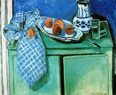 Matisse  Still Life With Green Sideboard