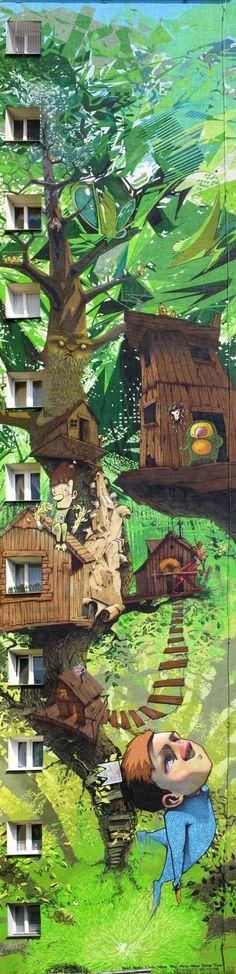 Treehouse Street Art