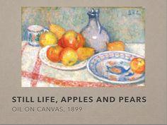 Slide 6 Still Life, Oil On Canvas, Apple, Painting, Art, Art Background, Painted Canvas, Painting Art, Kunst