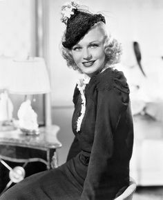 Ginger Rogers -- gorgeous!