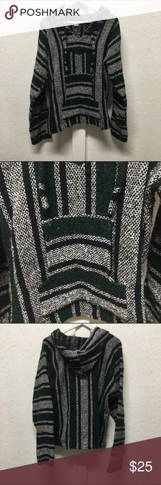 Mexican Baja hoodie Think knit Baja hoodie from Mexico Jackets & Coats
