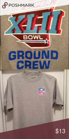 Selling this Vintage Reebok Super Bowl 32 Ground Crew Shirt on Poshmark! My username is: addicted2attics. #shopmycloset #poshmark #fashion #shopping #style #forsale #Reebok #Other