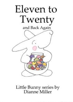 The companion to the One to Ten book, this one counts from eleven to twenty and back down to eleven. All the books in the Little Bunny series are so sweet, perfect for a toddler or preschooler.