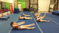 Uptown Abs workout at Gymtastics Gym Club...WOW..looks like a fun way to get your ab workout in!