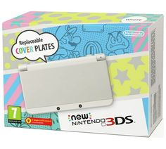 Buy New Nintendo 3DS Console - White at Argos.co.uk, visit Argos.co.uk to shop online for Nintendo 3DS consoles, Nintendo 3DS, 2DS and DS, Video games and consoles, Technology