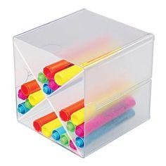 Merveilleux Plastic Storage U0026 Trays: Desk Cube, With Four Drawers, Clear Plastic, 6 X  7 1/8 X 6 | School Supplies | Pinterest | Plastic Storage, Cube And School