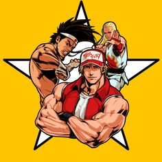 2080518-the_king_of_fighters__94_re_bout_05_artwork.jpg (2067×2067)